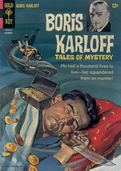 Boris Karloff Tales of Mystery #16 comic books - cover scans photos Boris Karloff Tales of Mystery #16 comic books - covers, picture gallery