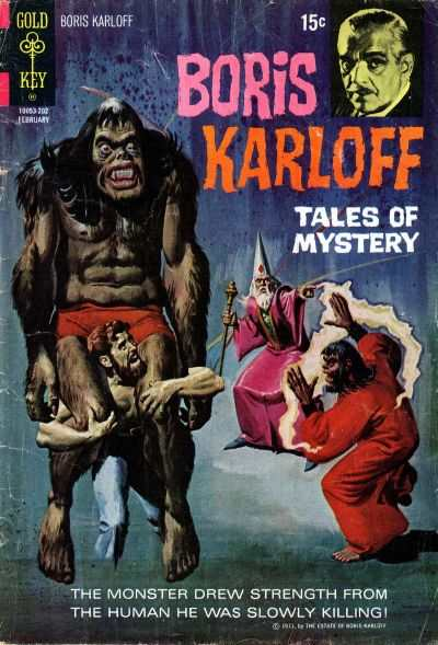 Boris Karloff Tales of Mystery #39 comic books - cover scans photos Boris Karloff Tales of Mystery #39 comic books - covers, picture gallery