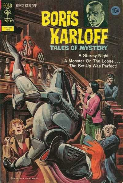 Boris Karloff Tales of Mystery #41 comic books for sale