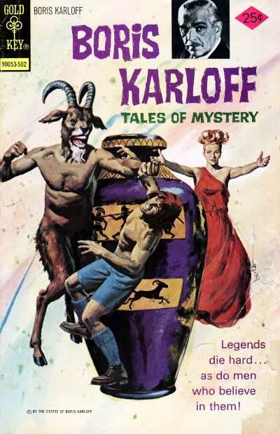 Boris Karloff Tales of Mystery #59 comic books for sale