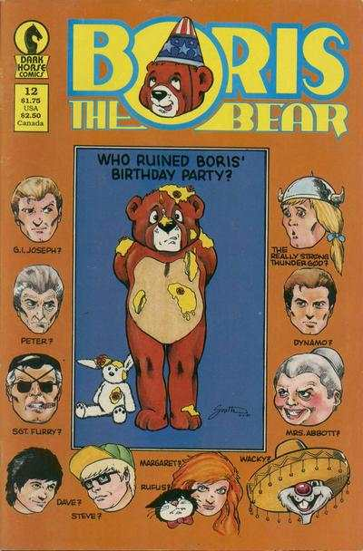Boris the Bear #12 Comic Books - Covers, Scans, Photos  in Boris the Bear Comic Books - Covers, Scans, Gallery