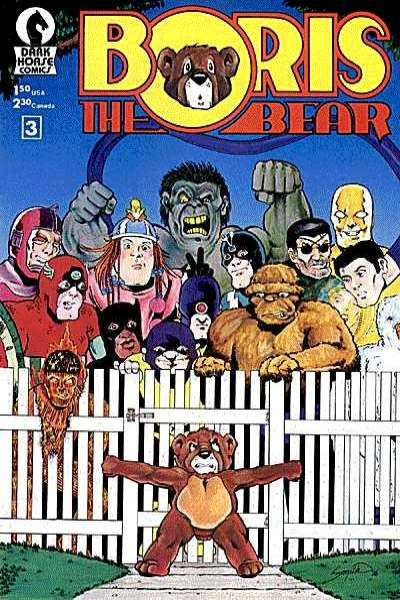 Boris the Bear #3 comic books for sale