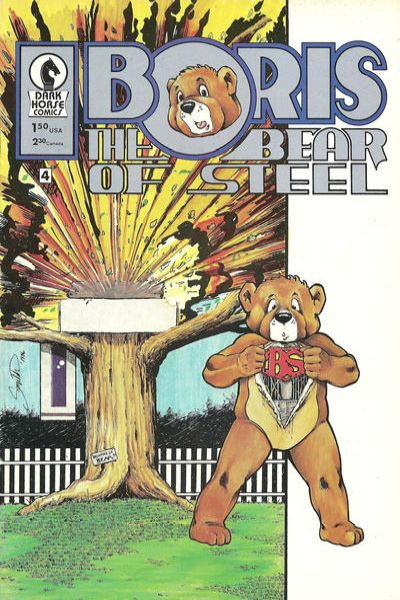 Boris the Bear #4 Comic Books - Covers, Scans, Photos  in Boris the Bear Comic Books - Covers, Scans, Gallery