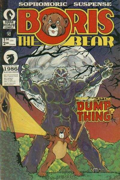 Boris the Bear #5 comic books for sale