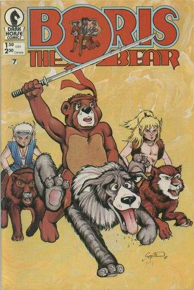 Boris the Bear #7 Comic Books - Covers, Scans, Photos  in Boris the Bear Comic Books - Covers, Scans, Gallery