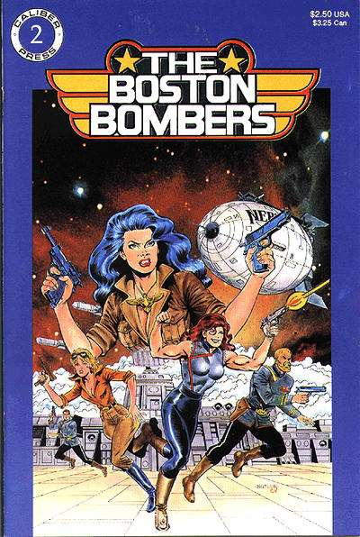 Boston Bombers #2 comic books - cover scans photos Boston Bombers #2 comic books - covers, picture gallery