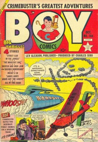 Boy Comics #104 comic books for sale