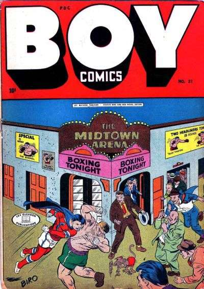 Boy Comics #21 comic books for sale