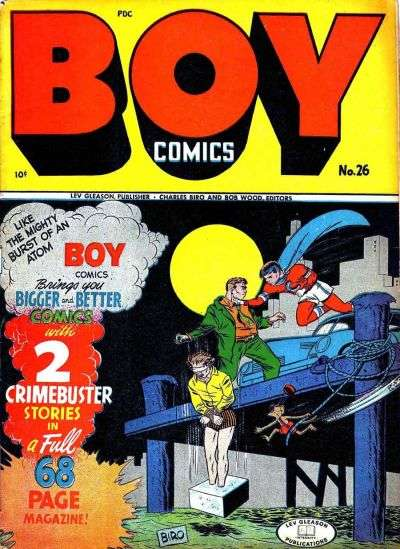 Boy Comics #26 Comic Books - Covers, Scans, Photos  in Boy Comics Comic Books - Covers, Scans, Gallery