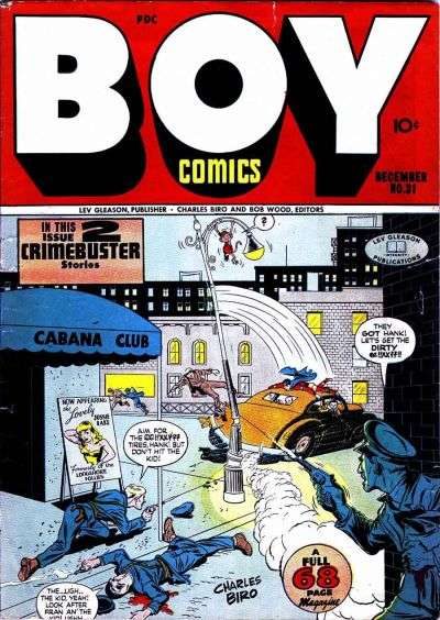 Boy Comics #31 Comic Books - Covers, Scans, Photos  in Boy Comics Comic Books - Covers, Scans, Gallery