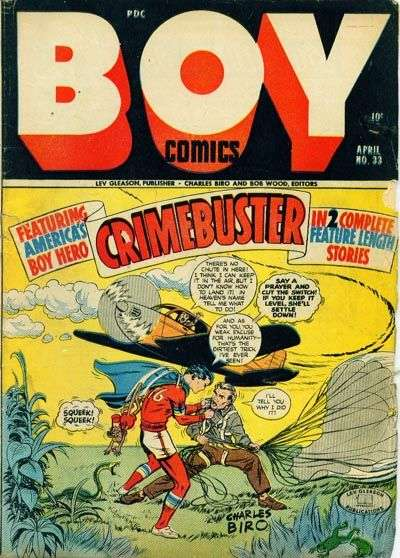 Boy Comics #33 comic books for sale