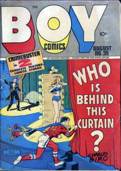 Boy Comics #35 comic books for sale