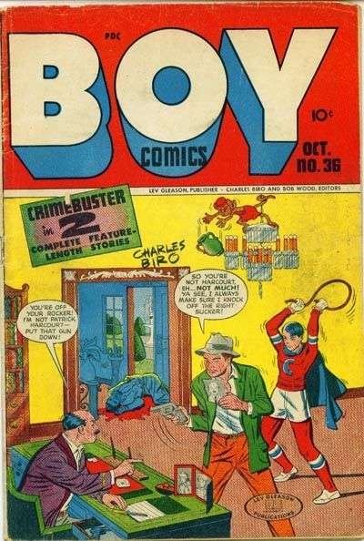 Boy Comics #36 comic books for sale
