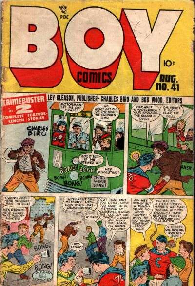 Boy Comics #41 comic books for sale