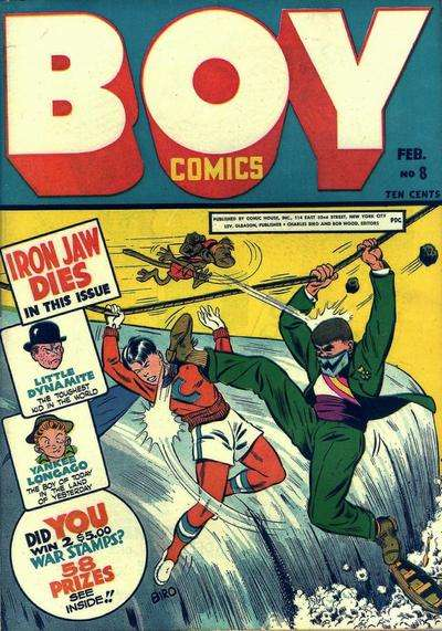 Boy Comics #8 comic books for sale