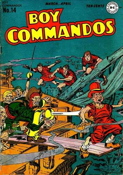 Boy Commandos #14 comic books for sale