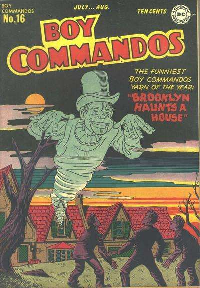 Boy Commandos #16 comic books for sale