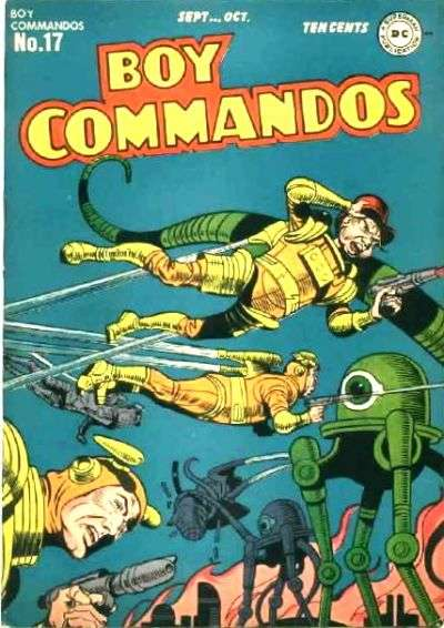 Boy Commandos #17 comic books for sale