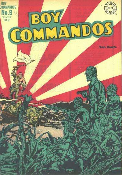 Boy Commandos #9 comic books for sale