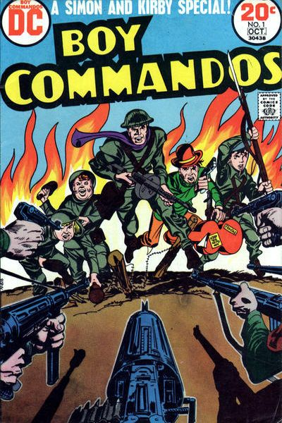 Boy Commandos comic books