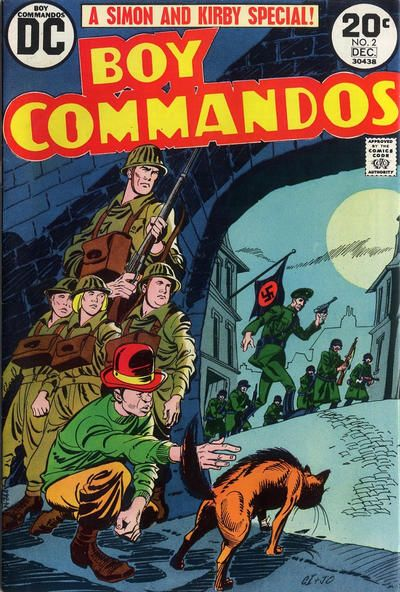 Boy Commandos #2 Comic Books - Covers, Scans, Photos  in Boy Commandos Comic Books - Covers, Scans, Gallery