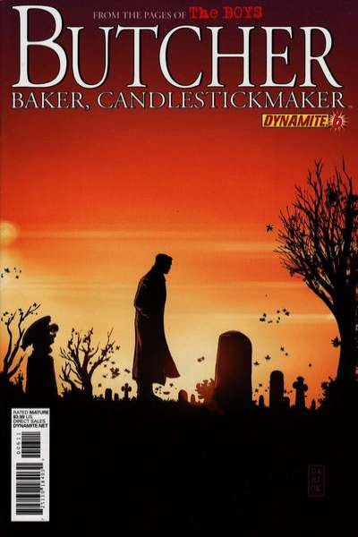 Boys: Butcher Baker Candlestickmaker #6 comic books for sale