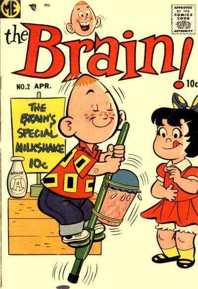 Brain #2 Comic Books - Covers, Scans, Photos  in Brain Comic Books - Covers, Scans, Gallery