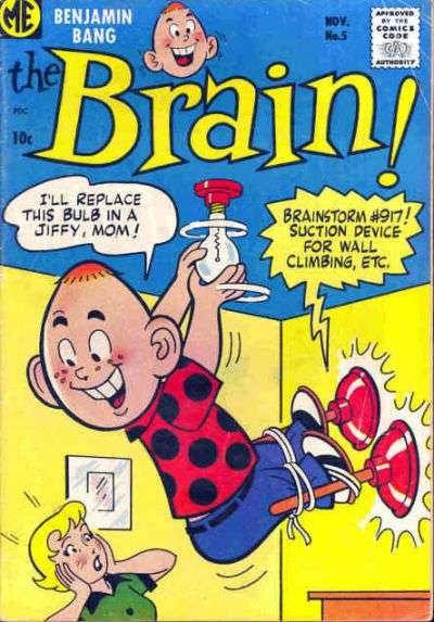 Brain #5 Comic Books - Covers, Scans, Photos  in Brain Comic Books - Covers, Scans, Gallery