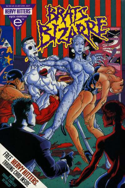 Brats Bizarre #3 comic books for sale