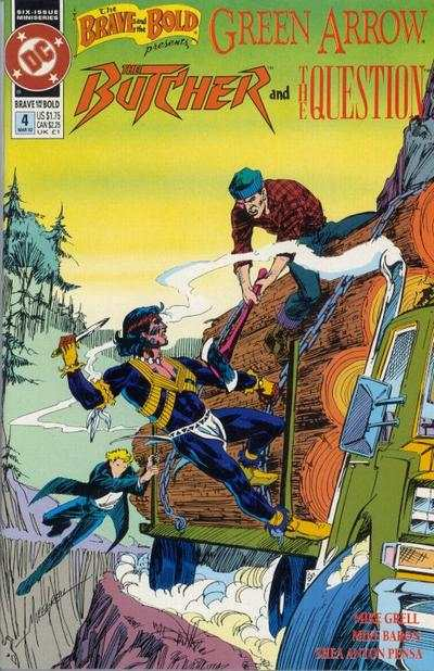 Brave and the Bold #4 Comic Books - Covers, Scans, Photos  in Brave and the Bold Comic Books - Covers, Scans, Gallery