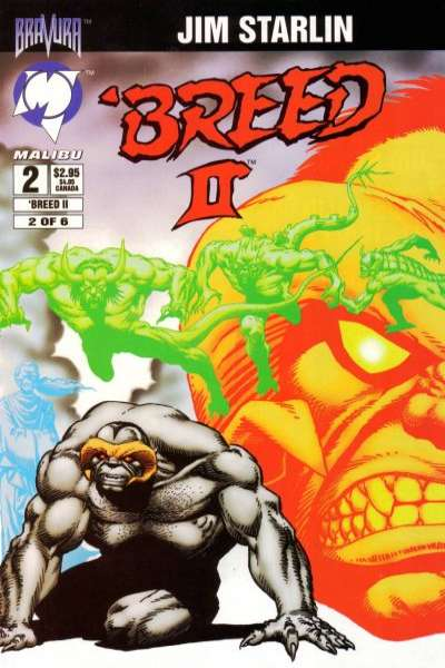 Breed II #2 comic books for sale