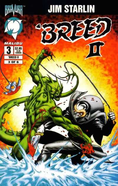 Breed II #3 comic books for sale