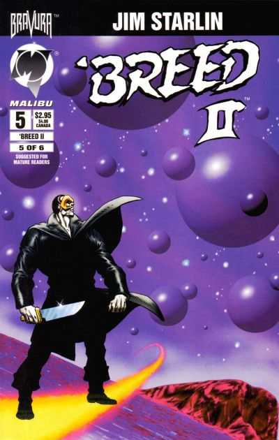 Breed II #5 comic books - cover scans photos Breed II #5 comic books - covers, picture gallery
