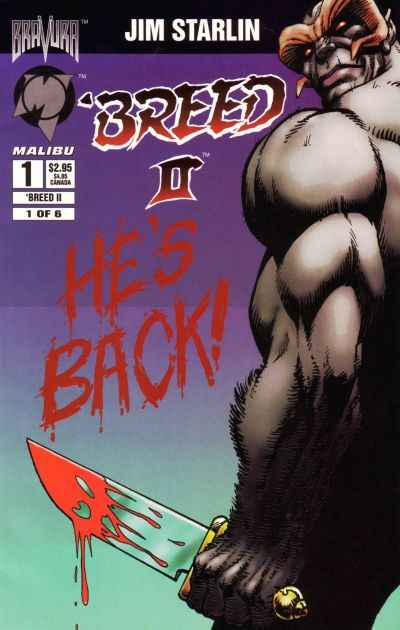 Breed II #1 comic books for sale