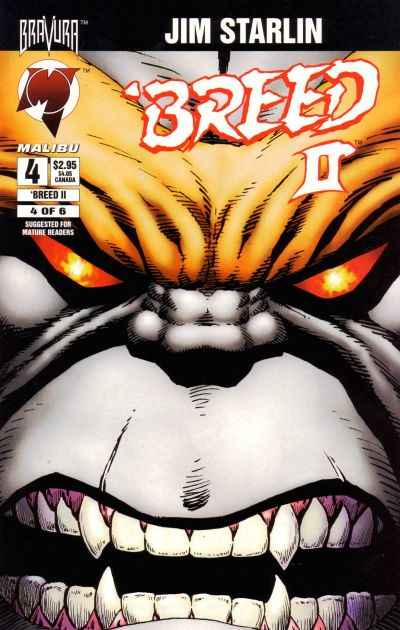 Breed II #4 comic books - cover scans photos Breed II #4 comic books - covers, picture gallery