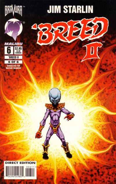 Breed II #6 comic books for sale