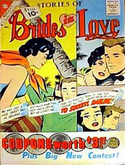 Brides in Love #24 comic books - cover scans photos Brides in Love #24 comic books - covers, picture gallery