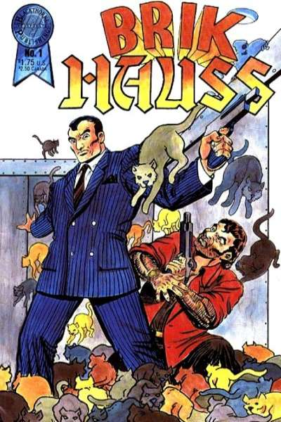 Brik Hauss #1 comic books - cover scans photos Brik Hauss #1 comic books - covers, picture gallery