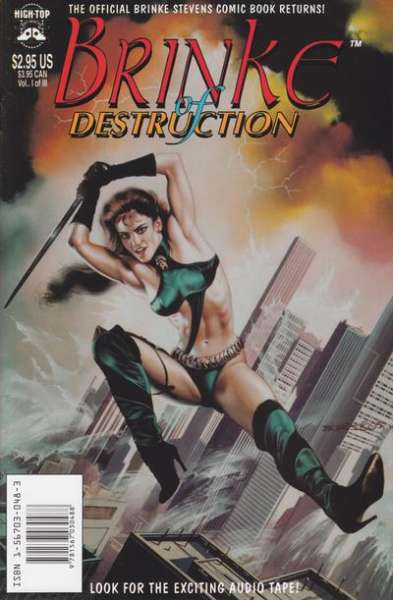 Brinke of Destruction comic books