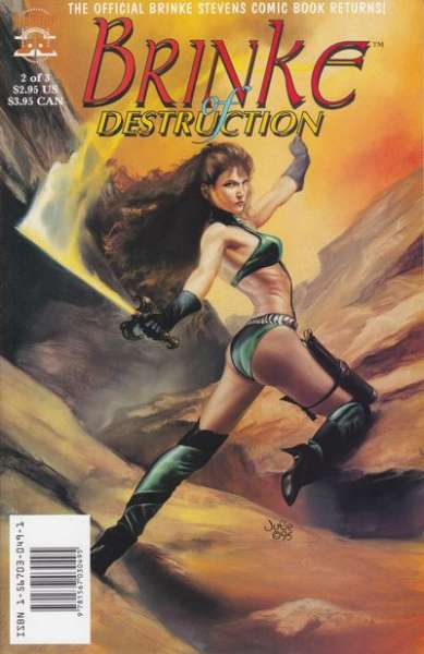 Brinke of Destruction #2 comic books for sale