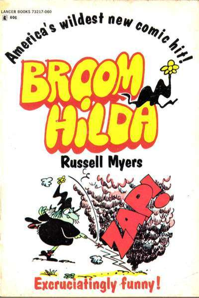 Broom Hilda comic books