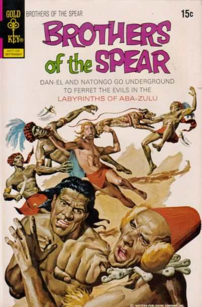 Brothers of the Spear #2 Comic Books - Covers, Scans, Photos  in Brothers of the Spear Comic Books - Covers, Scans, Gallery