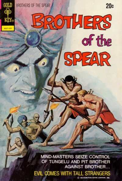 Brothers of the Spear #4 comic books - cover scans photos Brothers of the Spear #4 comic books - covers, picture gallery