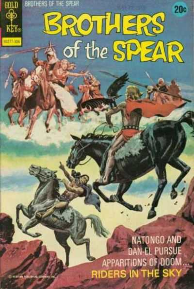 Brothers of the Spear #5 comic books for sale
