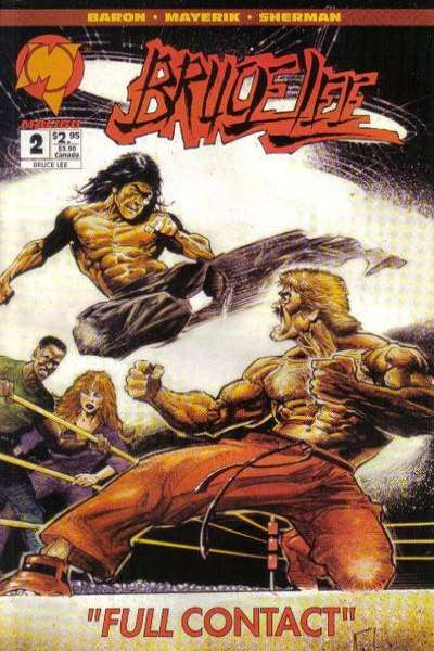 Bruce Lee #2 Comic Books - Covers, Scans, Photos  in Bruce Lee Comic Books - Covers, Scans, Gallery