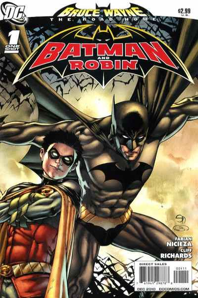 Bruce Wayne: The Long Road Home: Batman and Robin #1 comic books for sale