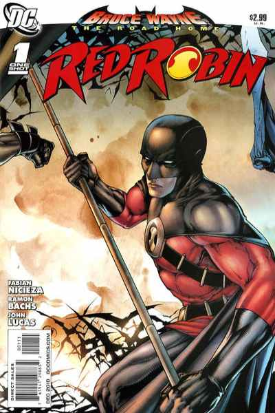 Bruce Wayne: The Long Road Home: Red Robin comic books