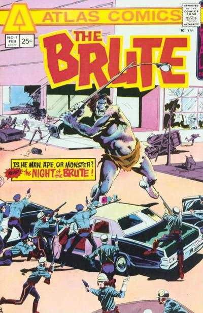 Brute #1 comic books - cover scans photos Brute #1 comic books - covers, picture gallery