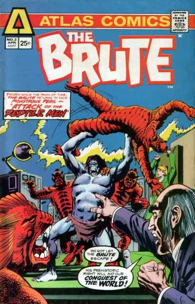 Brute #2 comic books - cover scans photos Brute #2 comic books - covers, picture gallery