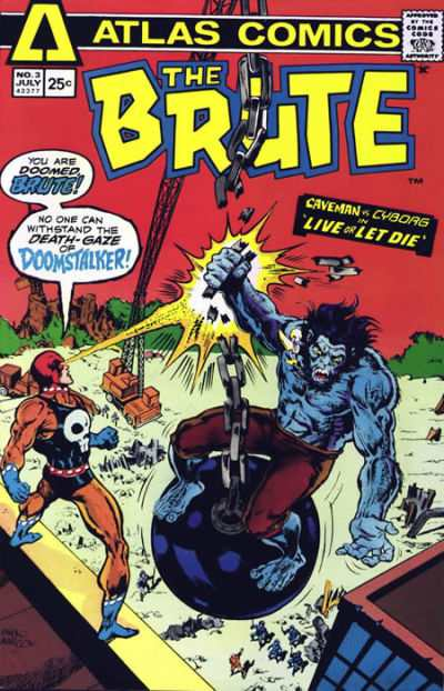 Brute #3 comic books - cover scans photos Brute #3 comic books - covers, picture gallery